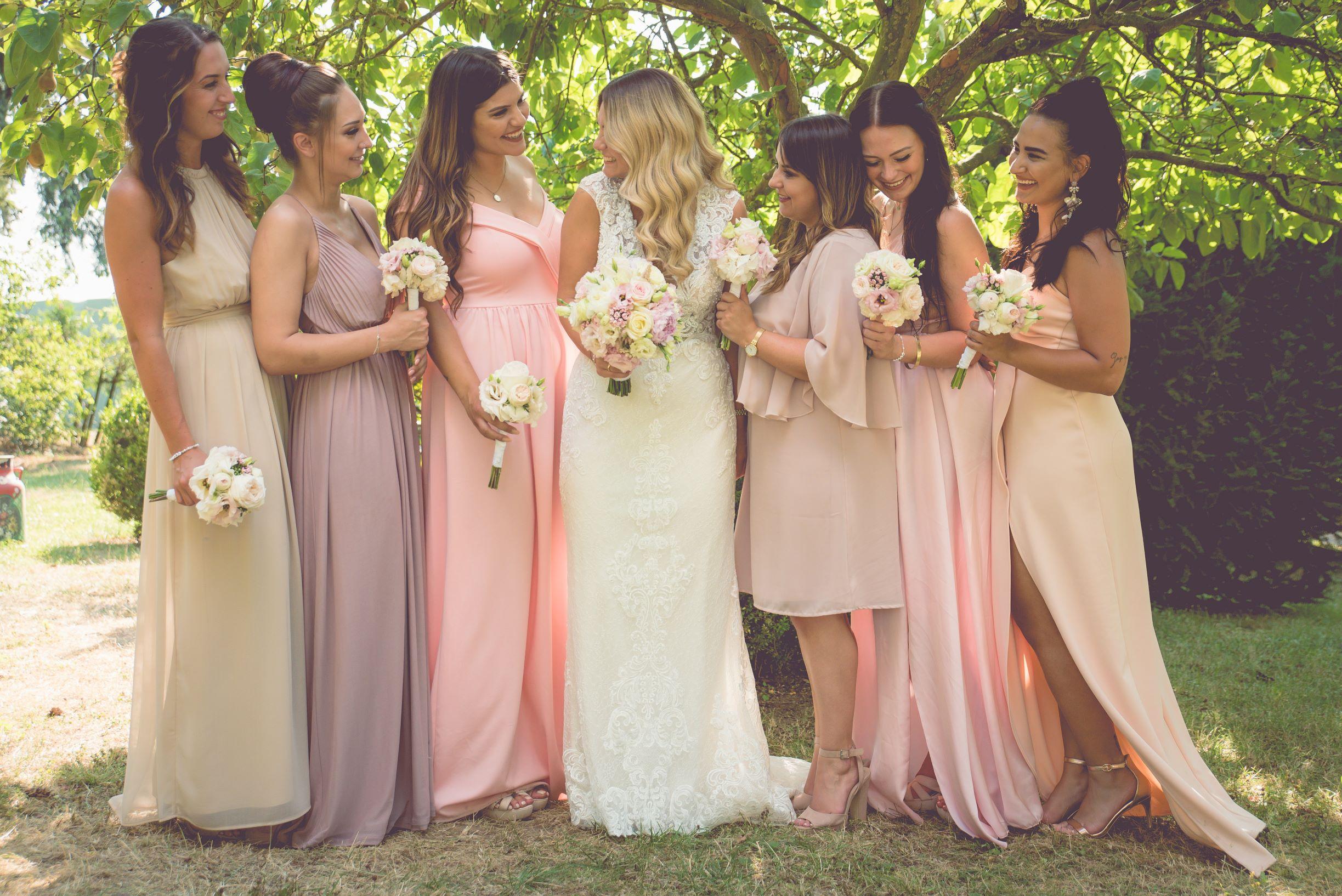Bridemaids Hochzeitfotografie wedding traumhochzeit