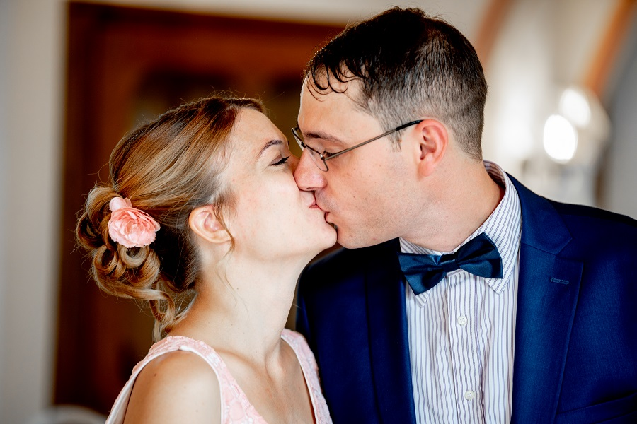 Hochzeitskuss Hochzeitsfotografie Hochzeit Wedding Idstein Limburg Weilburg Lahn Dill